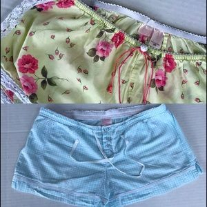 2 pair Victoria's Secret Sleep Shorts Tap …